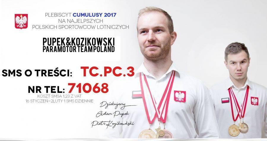 Łomża, Głosujemy naszych paralotniarzy! - zdjęcie, fotografia