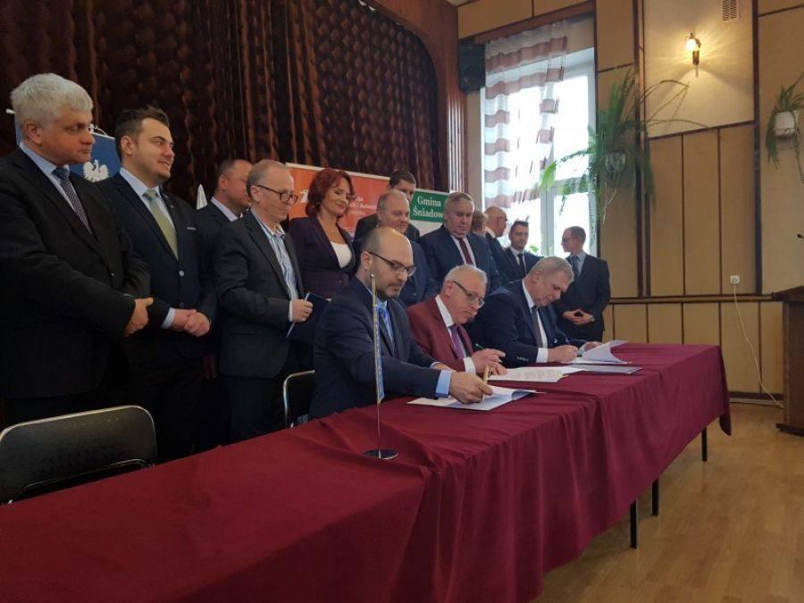Region, Baltica odcinku Śniadowo Łomża Umowa podpisana! [VIDEO] - zdjęcie, fotografia