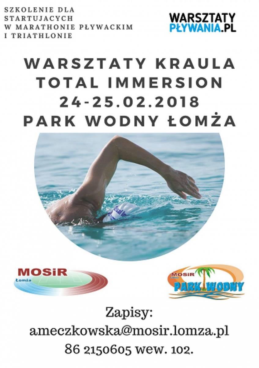 Łomża, Przygotuj maratonu pływackiego triathlonu! Warsztaty kraula Parku Wodnym tylko teraz - zdjęcie, fotografia