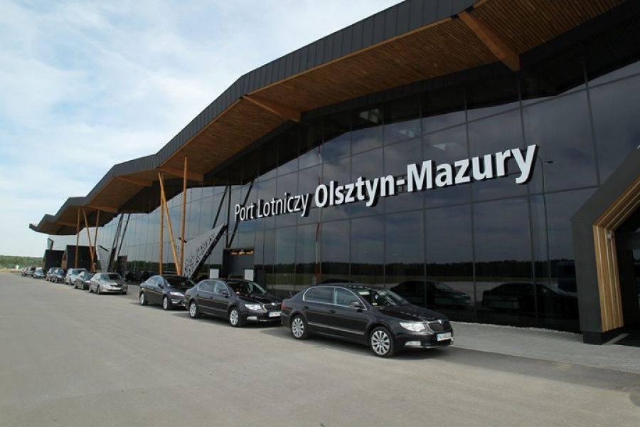 Region, lotniska Szymanach Dortmundu - zdjęcie, fotografia