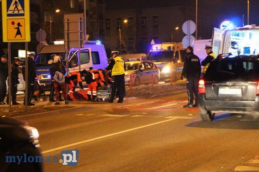 Łomża, Ratusz poprawić bezpieczeństwo przejściach przez Zawadzką - zdjęcie, fotografia