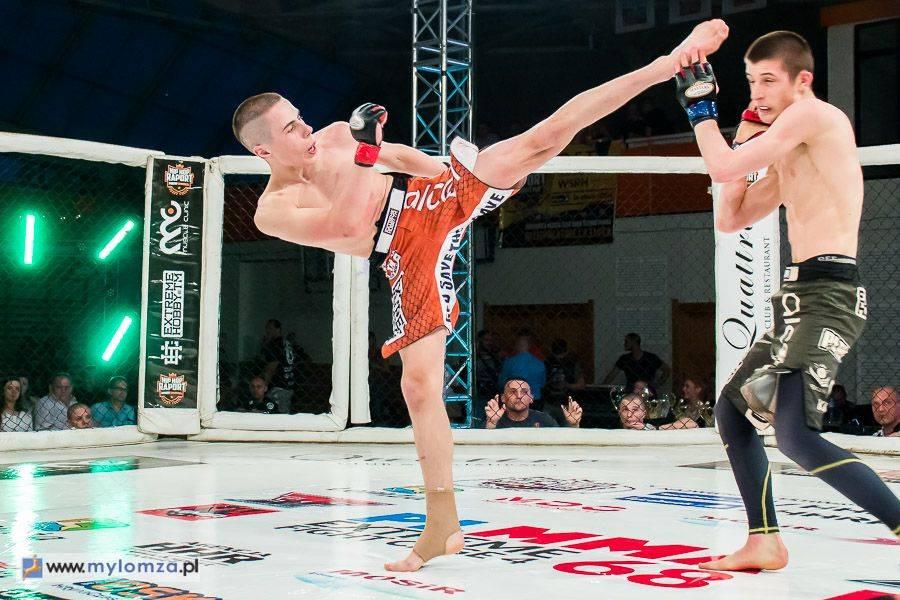 Sport, Armia Fight Night zawodowa Łomży - zdjęcie, fotografia