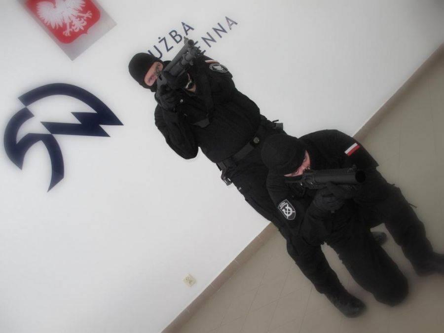 Region, broń strażników Czerwonego [FOTO] - zdjęcie, fotografia