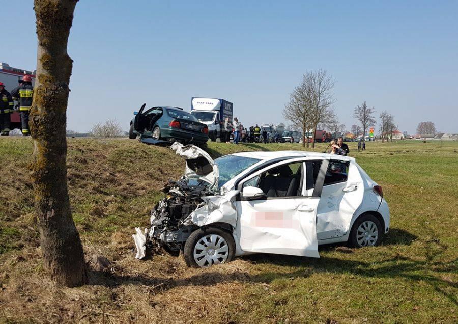 Region, [AKTUALIZACJA] Uwaga kierowcy! Droga Łomża Kolno zablokowana [FOTO] - zdjęcie, fotografia