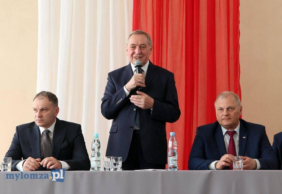 Łomża, Minister środowiska Marianowie Dobrą zmianę trzeba nieustannie podtrzymywać! [FOTO] - zdjęcie, fotografia