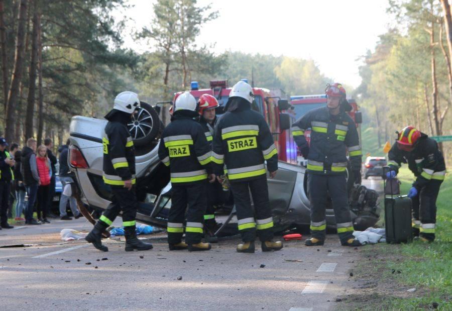 Region, Wypadek trasie Łomża Zambrów [FOTO] - zdjęcie, fotografia