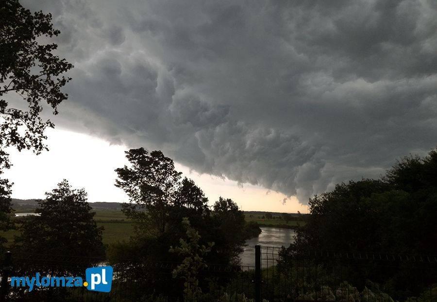 Ostrzeżenia meteo, Burze gradem - zdjęcie, fotografia