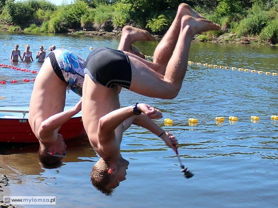 Łomża, kąpieliska Narwią - zdjęcie, fotografia