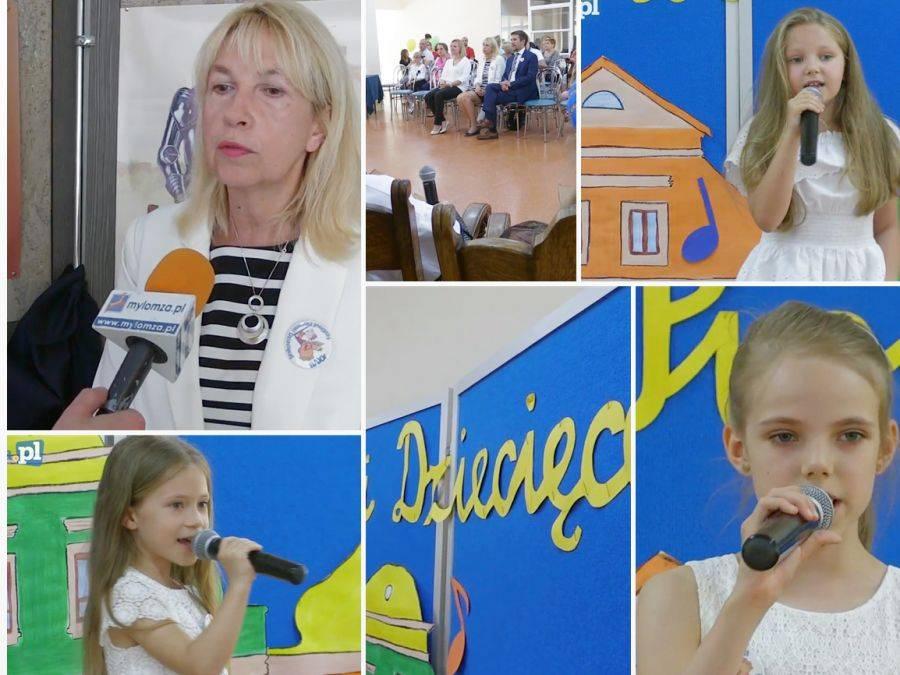 Sztuka, Maluchy podbiły scenę Łomży [VIDEO] - zdjęcie, fotografia
