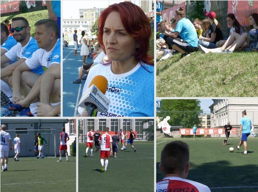 Rekreacja sportowa , Turniej patronatem posłanki Krynickiej - zdjęcie, fotografia
