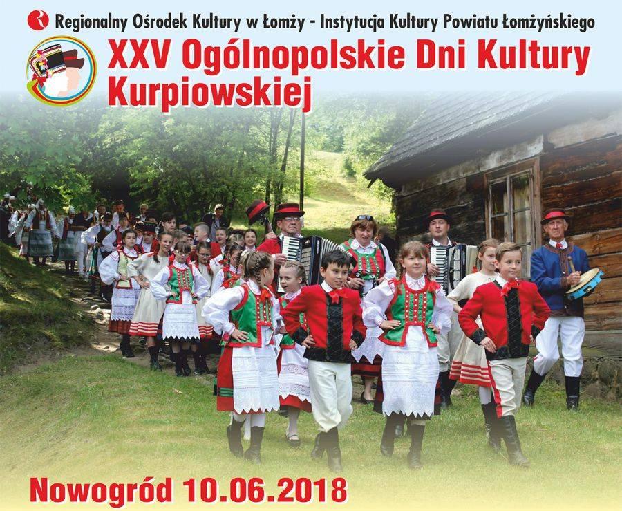 Sztuka, Nowogród kurpiowską stolicą Polski - zdjęcie, fotografia