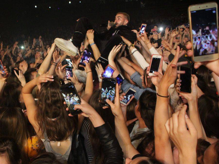 Łomża, Juwenalia Łomży Tłumy tylko) studentów muszli koncertowej [VIDEO FOTO] - zdjęcie, fotografia