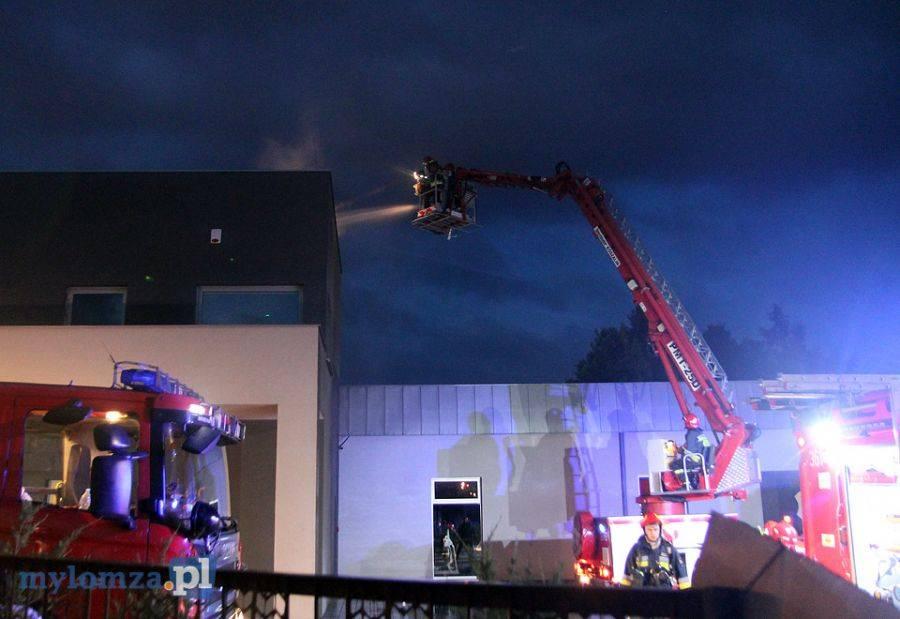 Newsy, Nocny pożar budynku siłowni było podpalenie [FOTO] - zdjęcie, fotografia