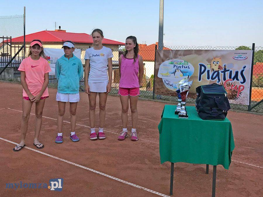 Tenis ziemny tenis stołowy badminton, Tenisowy Piątuś rozegrany [FOTO] - zdjęcie, fotografia