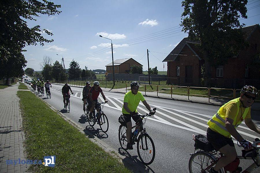 Łomża, pielgrzymka rowerowa parafii Krzyża Łomży - zdjęcie, fotografia