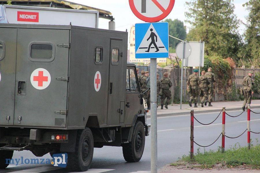 Łomża, [AKTUALIZACJA] Bomba Legionów ewakuacja mieszkańców [VIDEO FOTO] - zdjęcie, fotografia