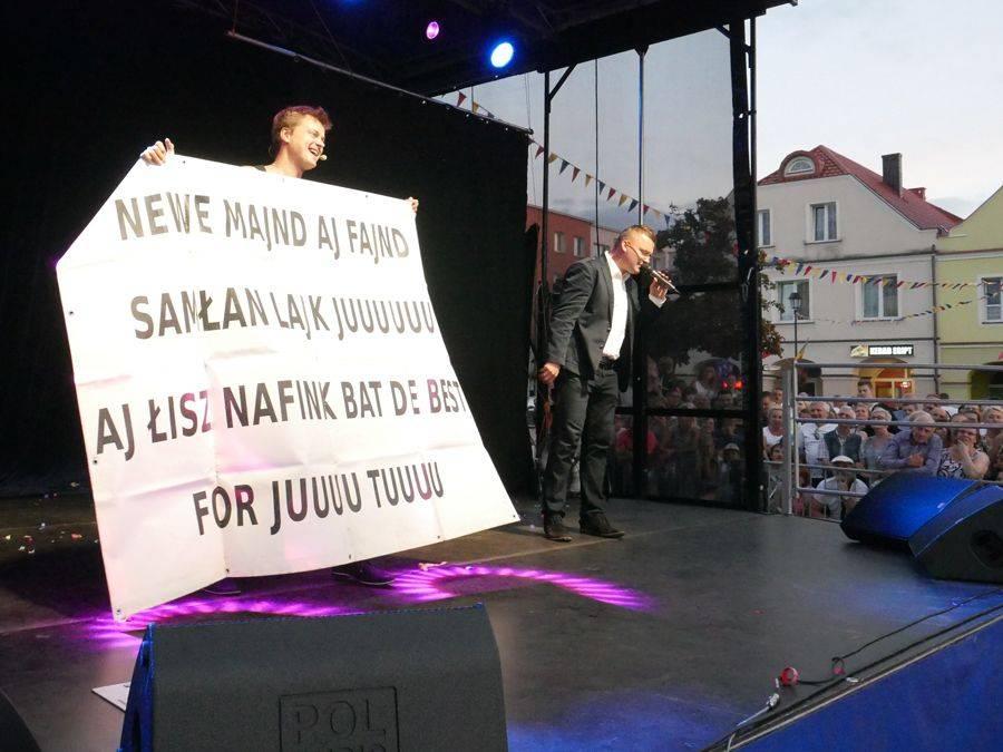 Kultura, Wieczór kabaretowy Starym Rynku [VIDEO FOTO] - zdjęcie, fotografia