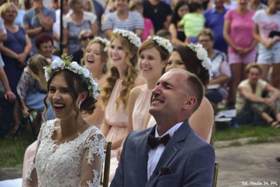 Region, Ślub podczas pielgrzymki - zdjęcie, fotografia