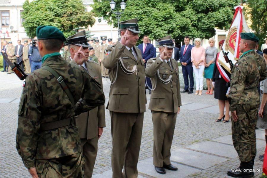 Historia, Program łomżyńskich obchodów Święta Wojska Polskiego - zdjęcie, fotografia