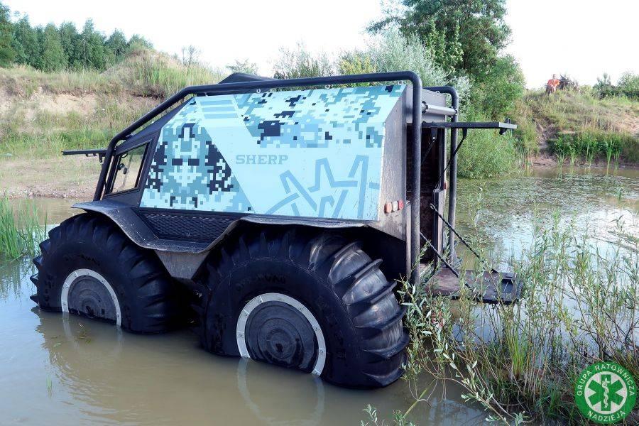 Zdrowie i uroda, Grupa nadzieja testuje wszechstronny pojazd ratowniczy [FOTO VIDEO] - zdjęcie, fotografia