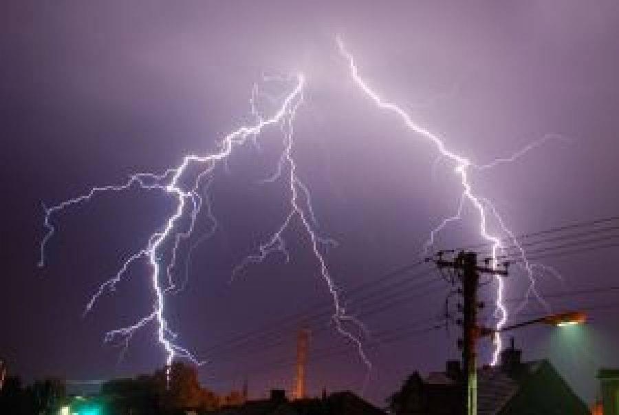 Ostrzeżenia meteo, Dzisiaj upał przeplatany burzami gradem - zdjęcie, fotografia