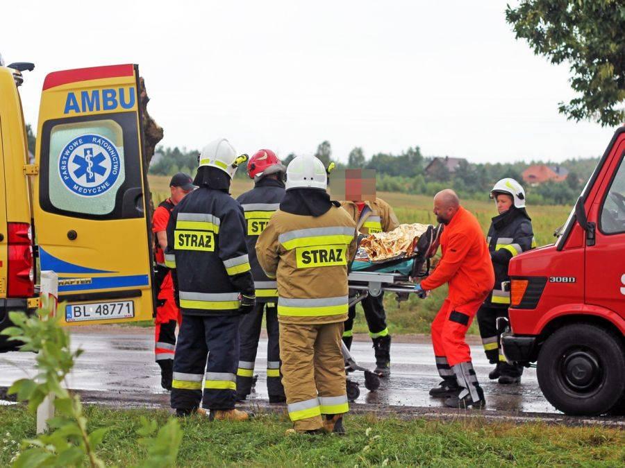 Komunikaty policji , [AKTUALIZACJA] Groźny wypadek Wygodą [FOTO] - zdjęcie, fotografia