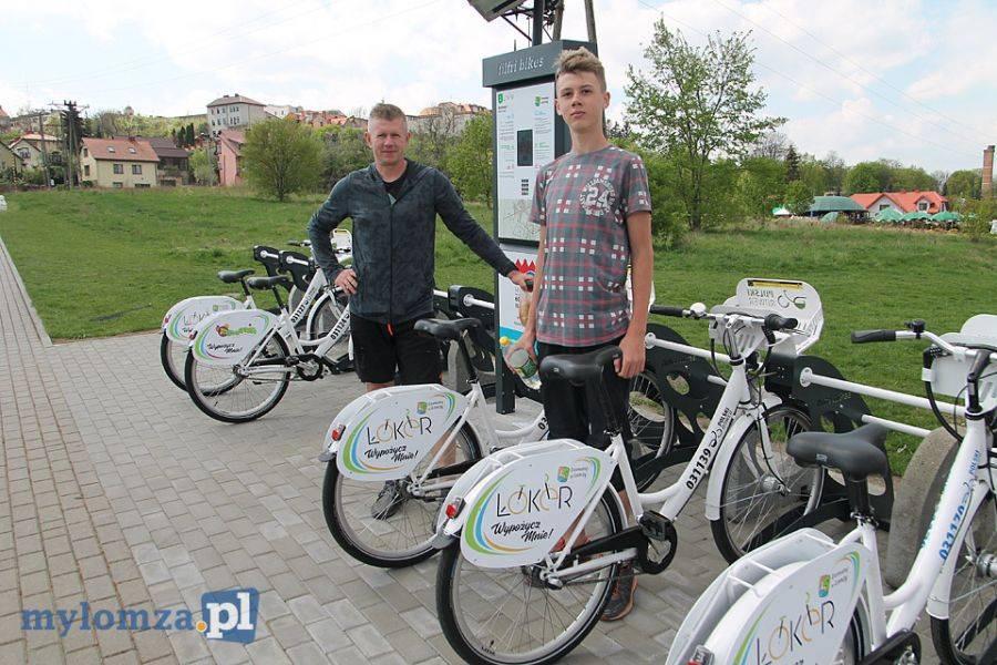 Rowery, Łomżyniacy ŁoKeRach - zdjęcie, fotografia