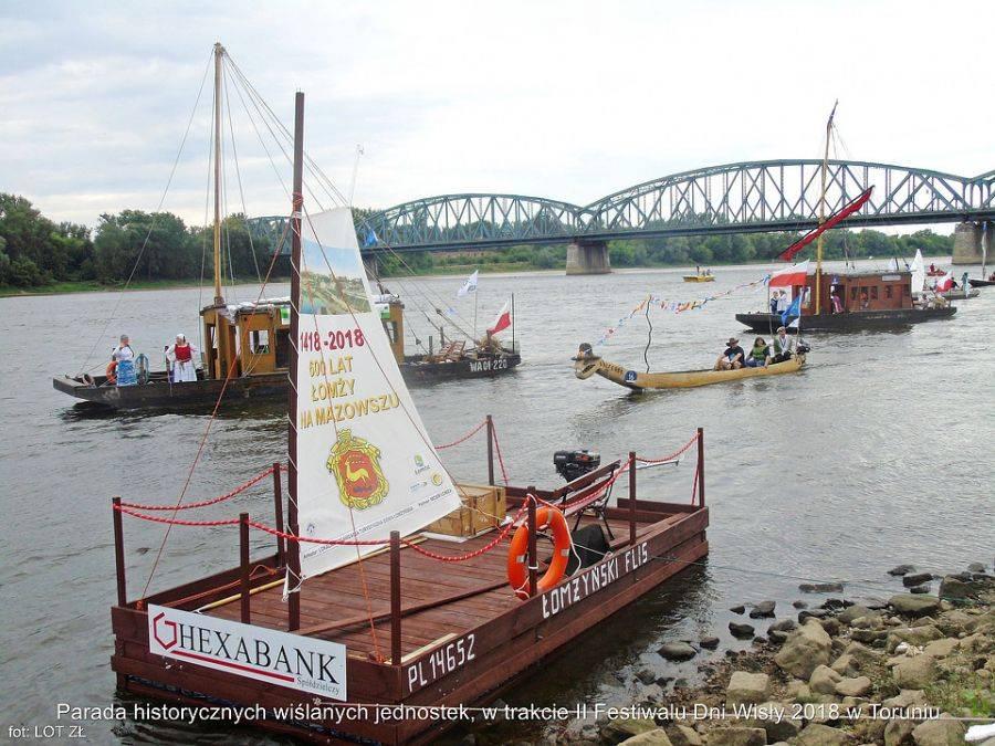 """Kultura, """"Łomżyński Flis"""" wizytą Festiwalu Wisły [FOTO] - zdjęcie, fotografia"""