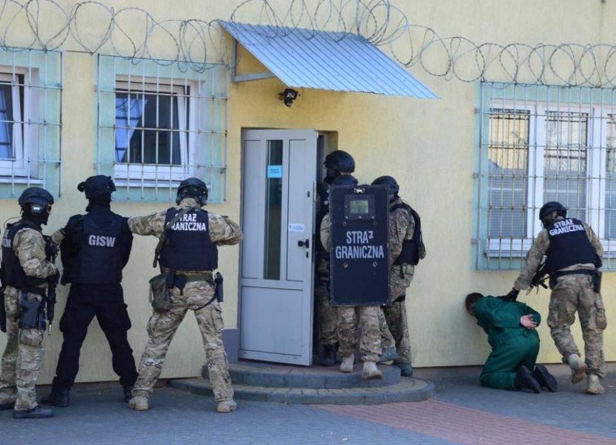 Kronika kryminalna, Manewry służb Czerwonym Borze [FOTO] - zdjęcie, fotografia