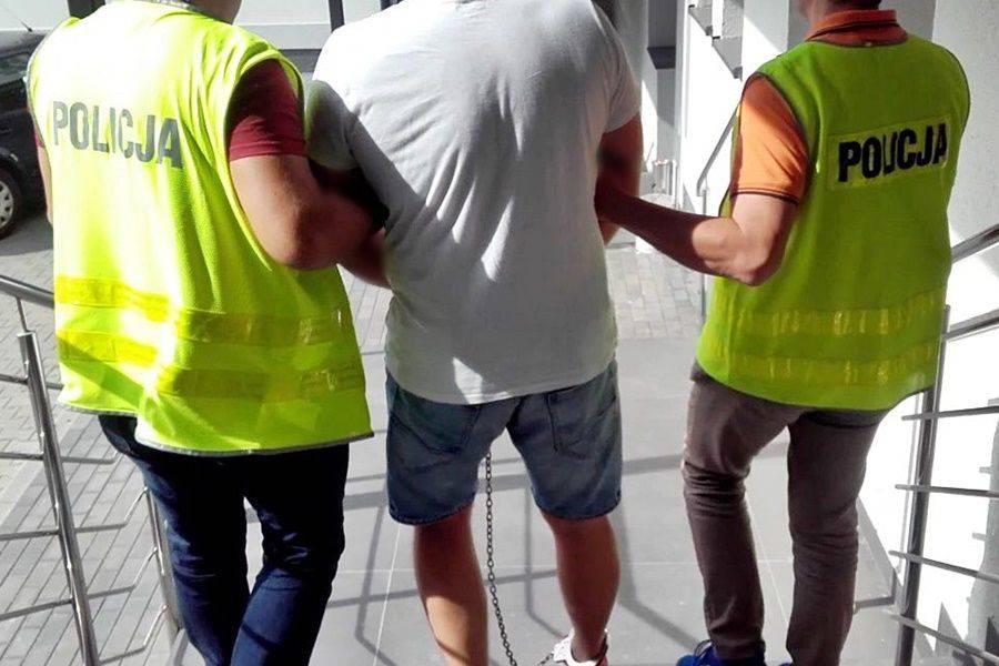 Łomża, CBŚP Łomży [VIDEO FOTO] - zdjęcie, fotografia