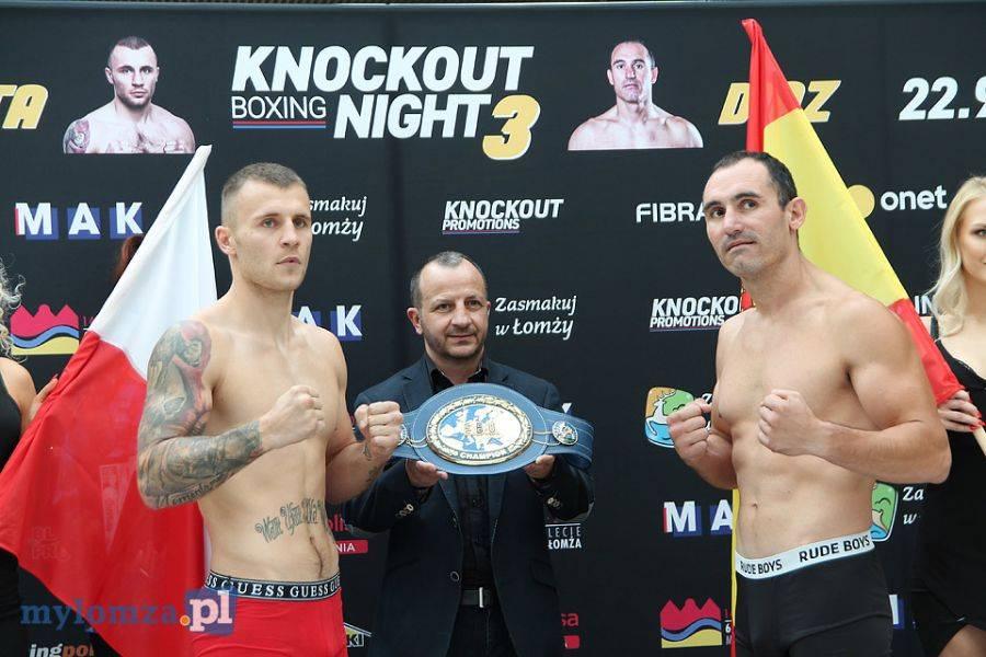 Boks, Knockout Boxing Night Ceremonia ważenia Galerii Veneda [VIDEO FOTO] - zdjęcie, fotografia