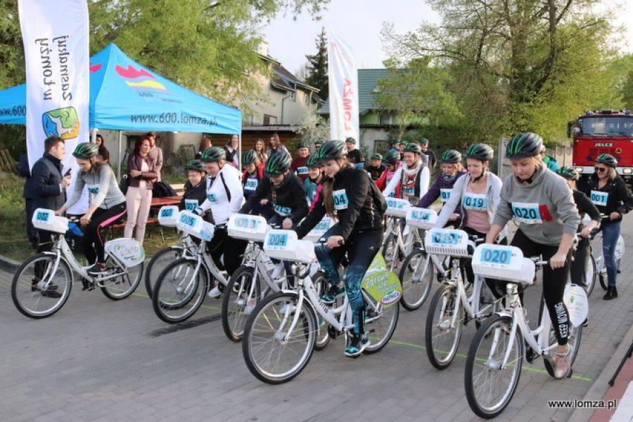 Rowery, Piknik wyścig miejskimi rowerami ŁoKeR - zdjęcie, fotografia