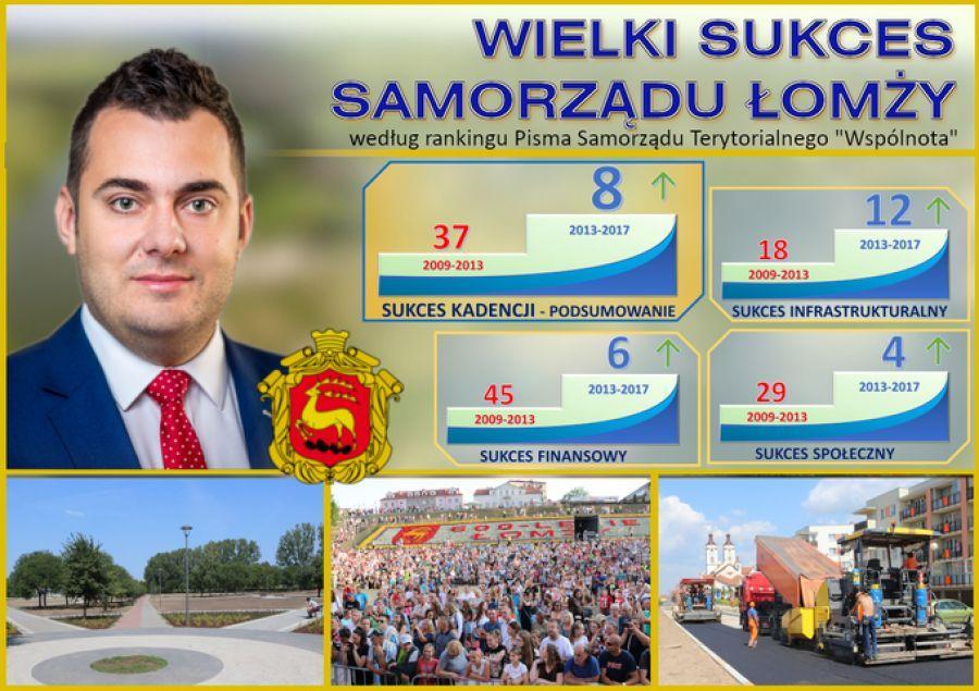 Łomża, Łomża ósma Sukcesie kadencji - zdjęcie, fotografia