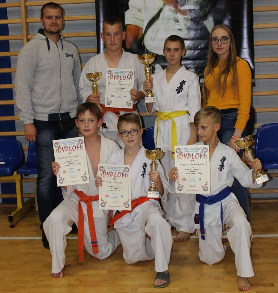Sport, Sukces młodych łomżyńskich karateków [FOTO] - zdjęcie, fotografia
