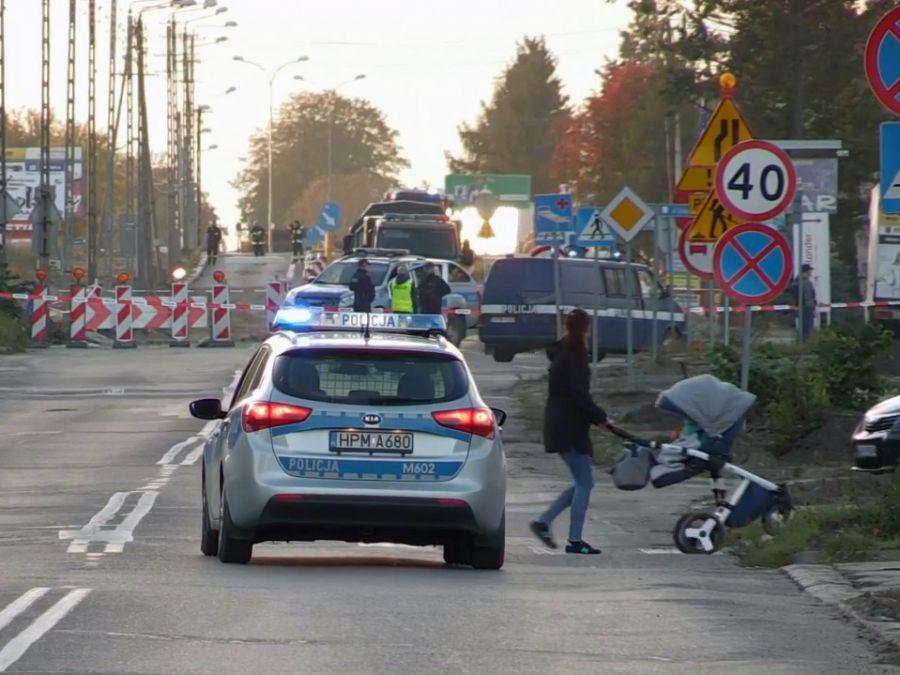 Kronika kryminalna, Ewakuacja Kolna znaleziono niewybuchy [VIDEO] - zdjęcie, fotografia