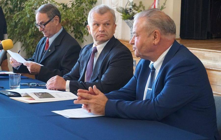 Partie polityczne, Uroczysta Sesja Sejmiku Województwa Podlaskiego Łomży [VIDEO FOTO] - zdjęcie, fotografia