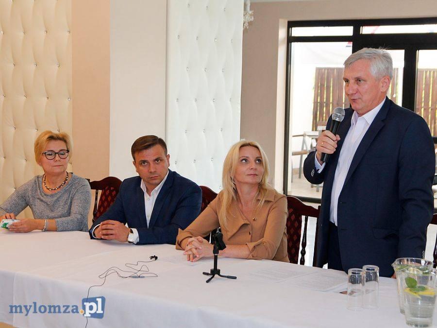Partie polityczne, Poseł Agnieszka Ścigaj prezentacji kandydatów Kukiz [FOTO VIDEO] - zdjęcie, fotografia