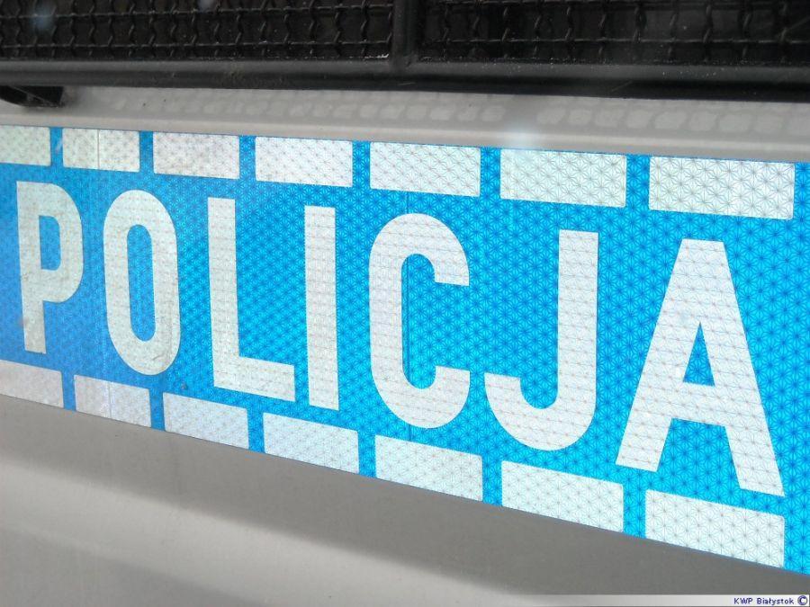 Kronika kryminalna, Wiejska ugodzenie nożem - zdjęcie, fotografia