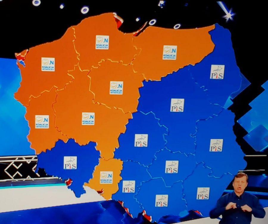 Partie polityczne, Sondaże wyborach sejmików korzystne - zdjęcie, fotografia
