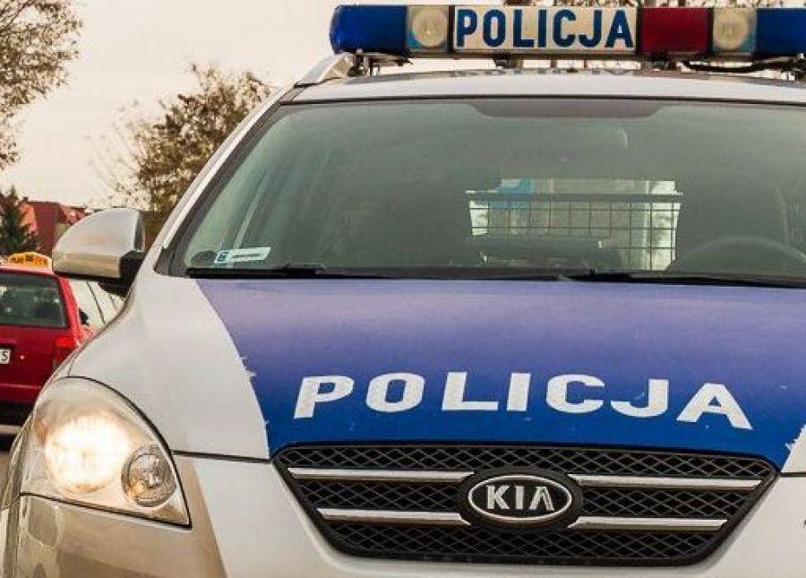 Kronika kryminalna, Pobity centrum miasta - zdjęcie, fotografia