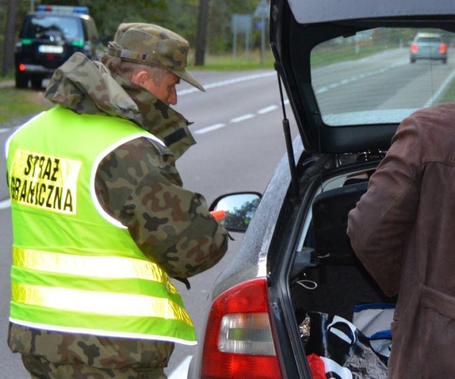 Interwencje, Wraca kontrola granicy Litwą - zdjęcie, fotografia