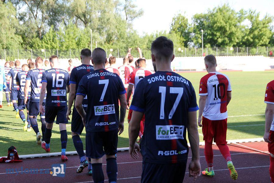 Sport, [LIVE] Łomża Sokół Ostróda - zdjęcie, fotografia