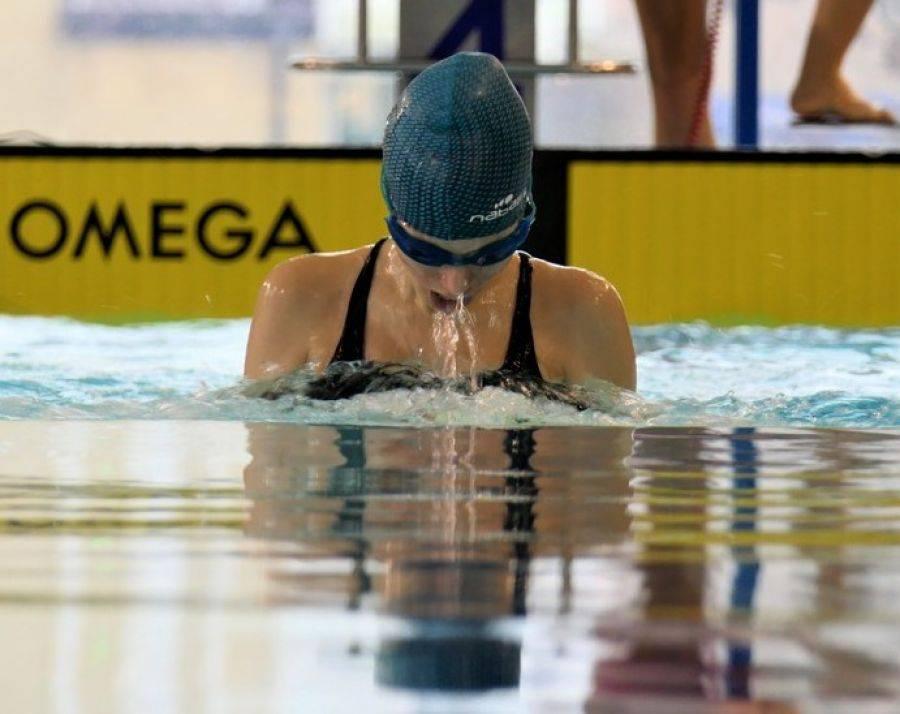 Rekreacja sportowa , Młodzi sportowcy rywalizowali Otwartych Zawodach Pływackich [FOTO] - zdjęcie, fotografia