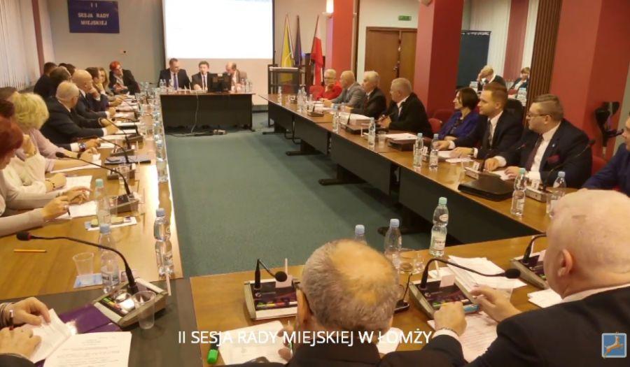 Rada Miejska w Łomży, Poznaliśmy składy komisji Miejskiej - zdjęcie, fotografia