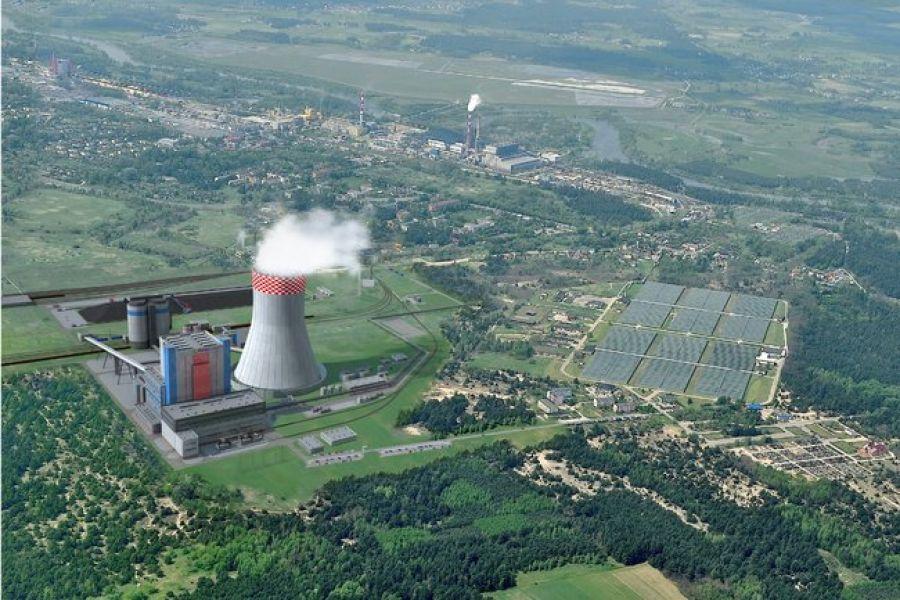 Aktualności, Elektrownia Ostrołęka poleceniem rozpoczęcia - zdjęcie, fotografia