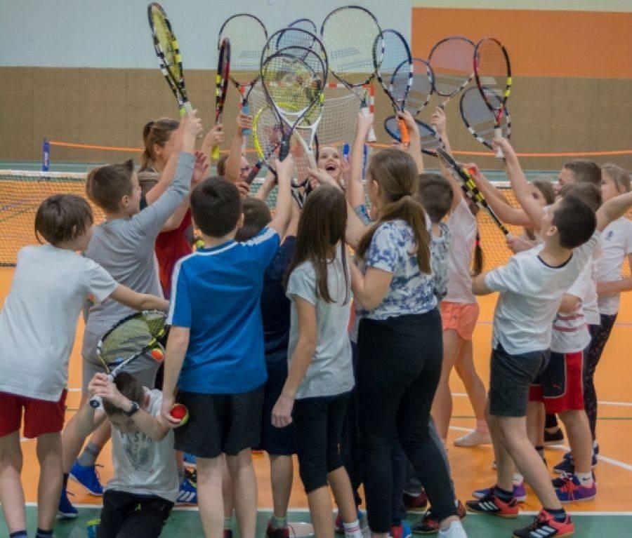 Rekreacja sportowa , Podsumowanie pierwszego półrocza programu Tenis [FOTO] - zdjęcie, fotografia