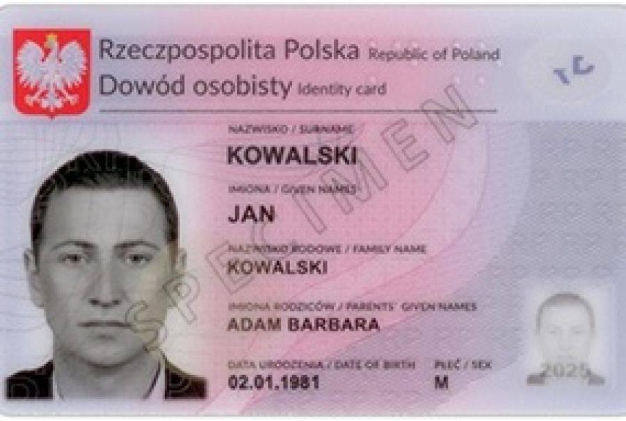 Region, Prawie Polaków wymienić dowód osobisty - zdjęcie, fotografia
