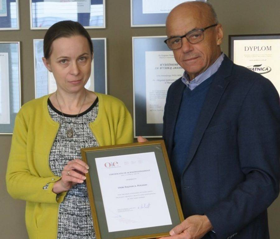 Region, Dyplom uznania Piątnica [FOTO] - zdjęcie, fotografia