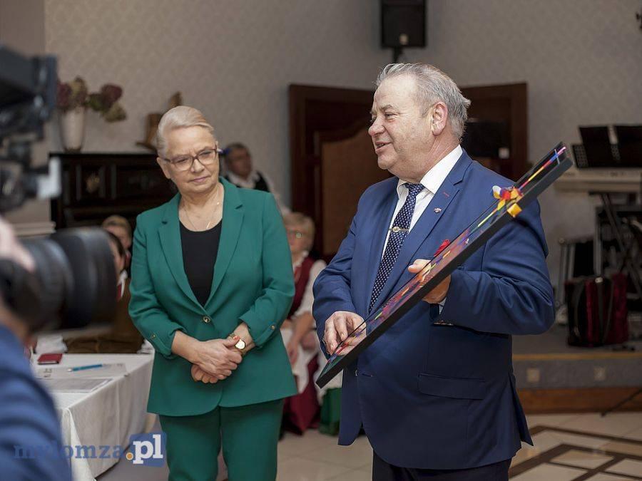 Newsy, Spotkanie noworoczne łomżyńskim Stowarzyszeniu Wspólnota Polska [FOTO] - zdjęcie, fotografia