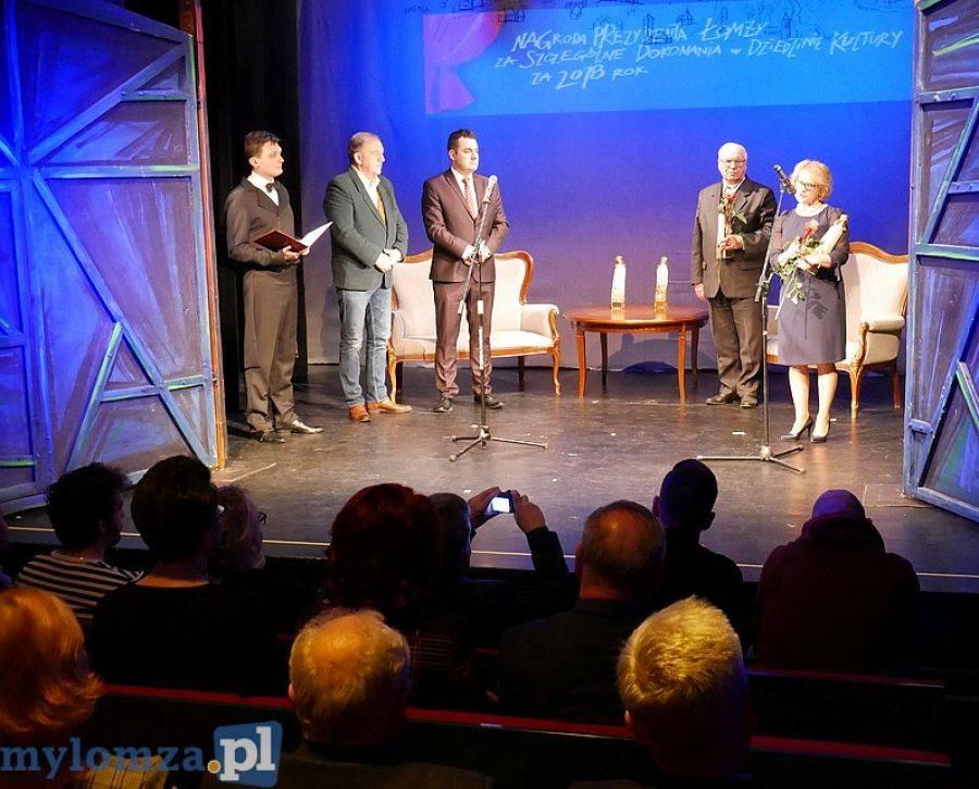 Sztuka, Łomża Prezydenckie nagrody dziedzinie kultury [FOTO VIDEO] - zdjęcie, fotografia